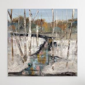 Winter Birches - Print