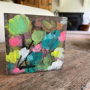 Painted Planter Box