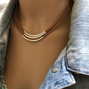 Triple Bar Necklace