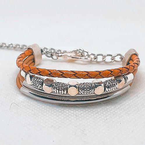Silver Multi-strand Bracelet