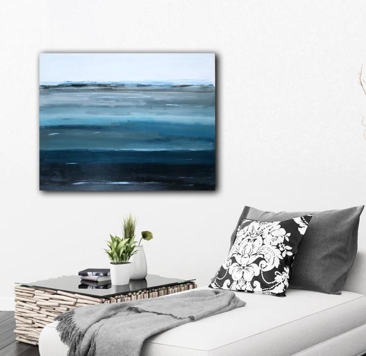 Abstract Modern Art Layers