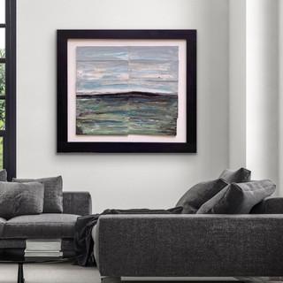 Landscape Painting, Waterscape, Original Art