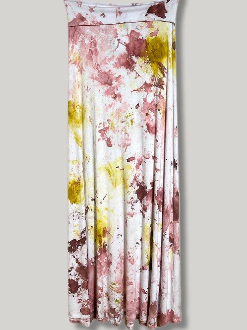 Strapless Boho Dress