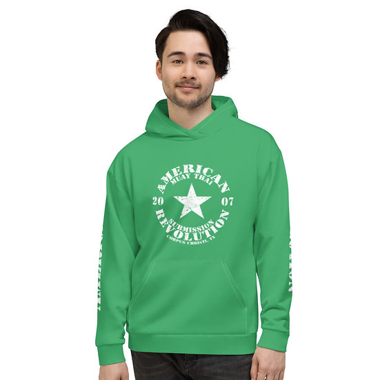 Unisex Kelly Green Classic American Revolution Hoodie