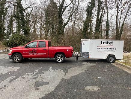 Bethel Environmental Pickup Truck