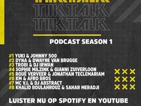 Het volledige eerste seizoen van TIKTALK is nu terug te kijken en luisteren!