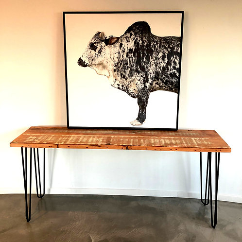 Reclaimed Timber Console