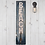 Thumbnail: Reclaimed Timber Beach Sign with coat hook