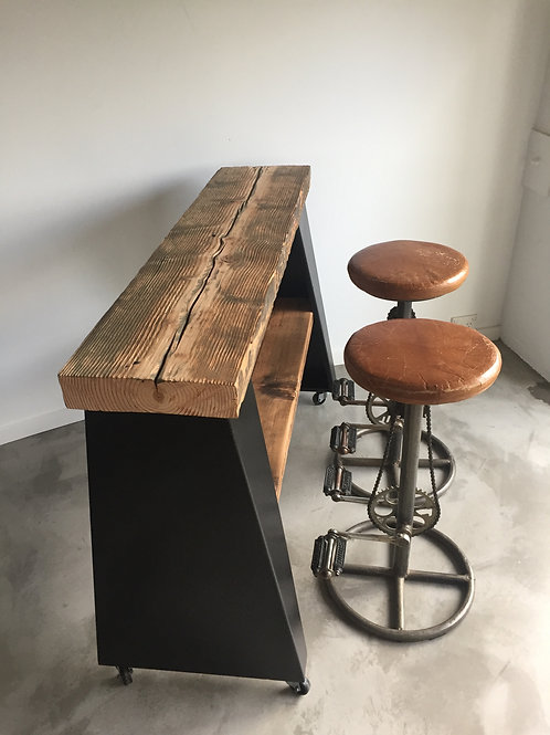 Industrial Console Bar Table