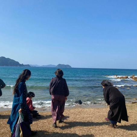 萩の海。小春日和