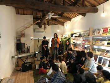 春分の日「music live&movie&グループ展」
