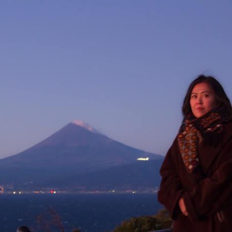アークトゥルス...富士山と駿河湾