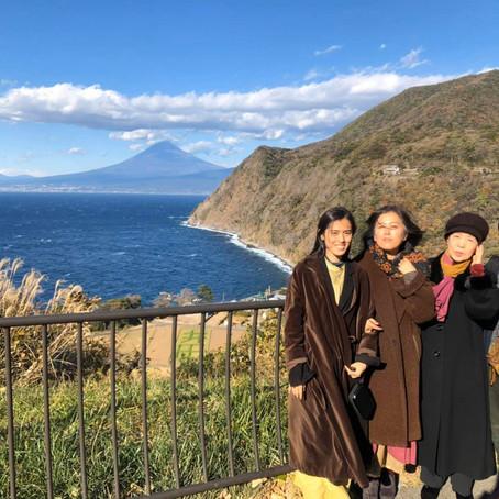 先祖と富士山の愛   母と共に受け取る祝福