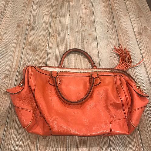 Orange Banana Republic Leather Purse