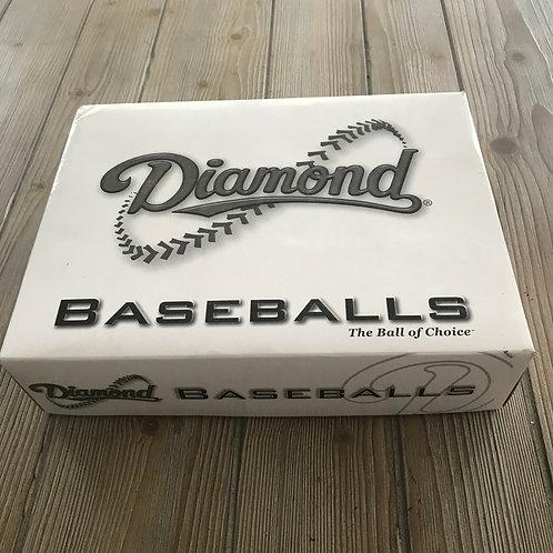 New Diamond Leather Baseballs