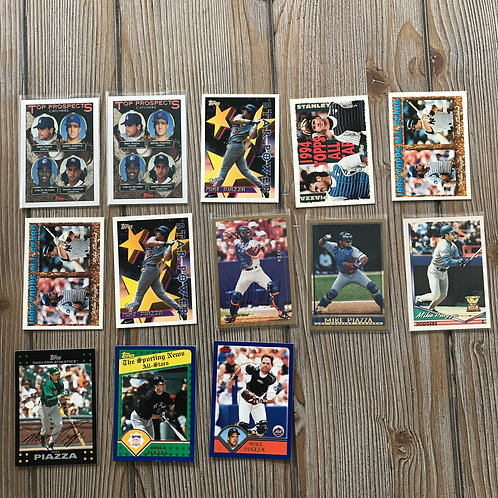 Lot of Mike Piazza Cards