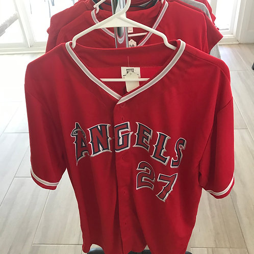 SOLD - Mike Trout Giveaway Jersey - Adult XL