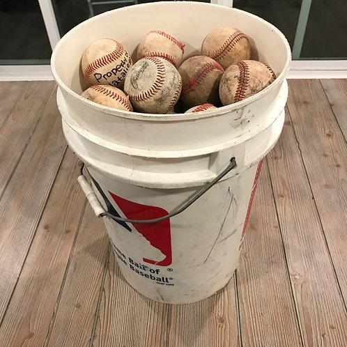 One Dozen Economy Practice Baseballs