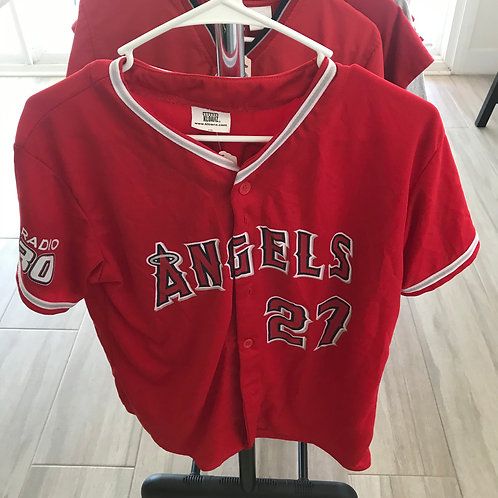SOLD - Mike Trout Giveaway Jersey - Youth XL