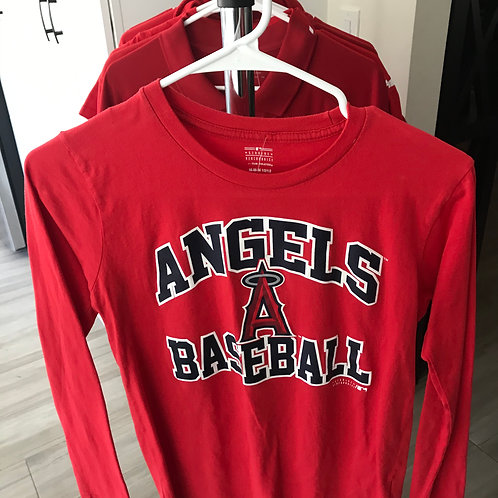 Angels Long Sleeve T-Shirt - Youth Med