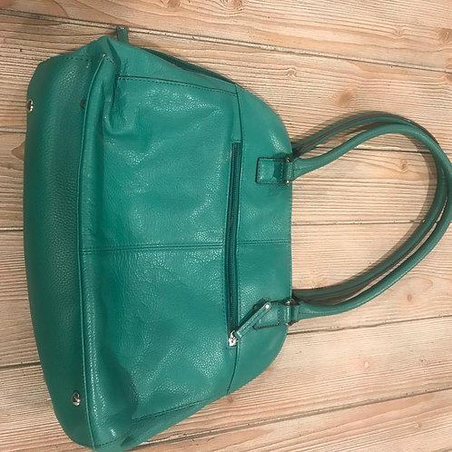 Green Tignanello Leather Purse