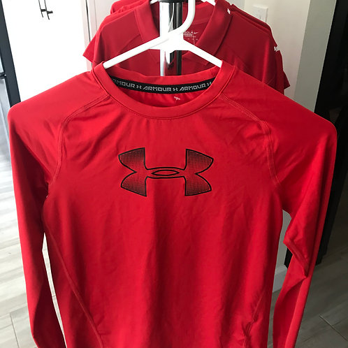 Long Sleeve Under Armour Shirt - Youth Large