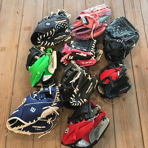 T-Ball gloves - See description