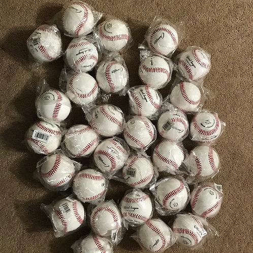 32 New Leather Baseballs