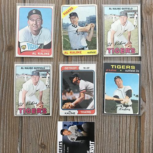 Lot of Al Kaline Cards