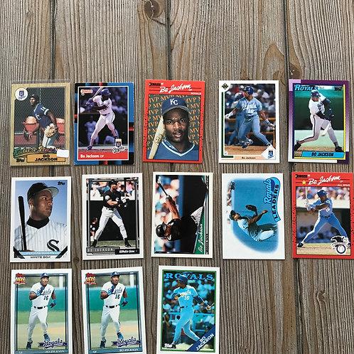 Lot of Bo Jackson Cards