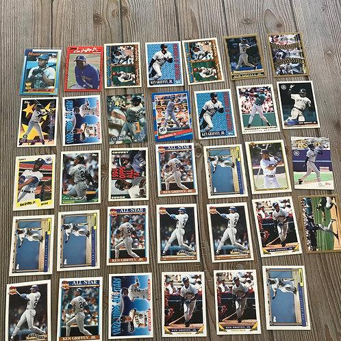 Lot of Ken Griffey Jr Cards