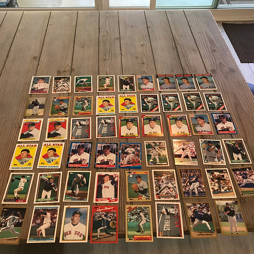 Lot of Roger Clemens Cards