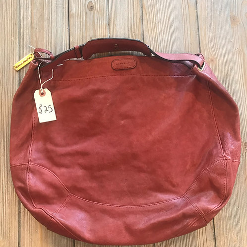 Red Rabeanco Leather Purse