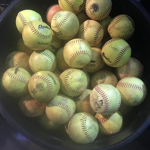 """12"""" Softballs - $60 for 3 dozen"""
