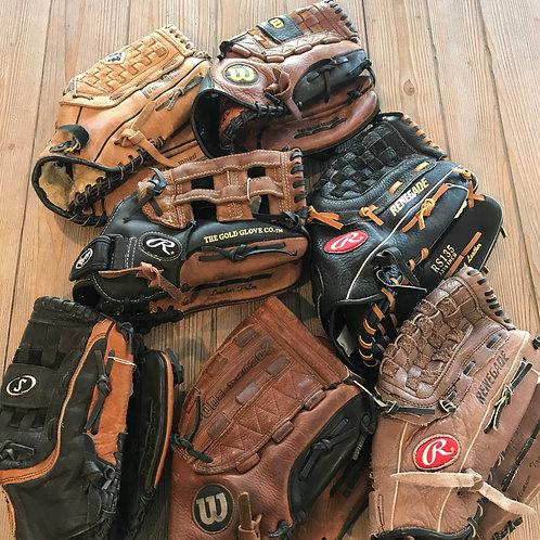 Adult Softball Gloves - See Description
