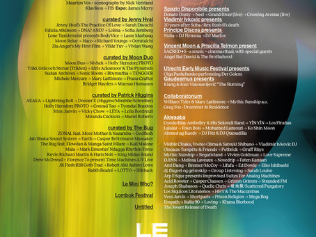 Premiere of THE BURNING for Ensemble Klang at LeGuessWho?