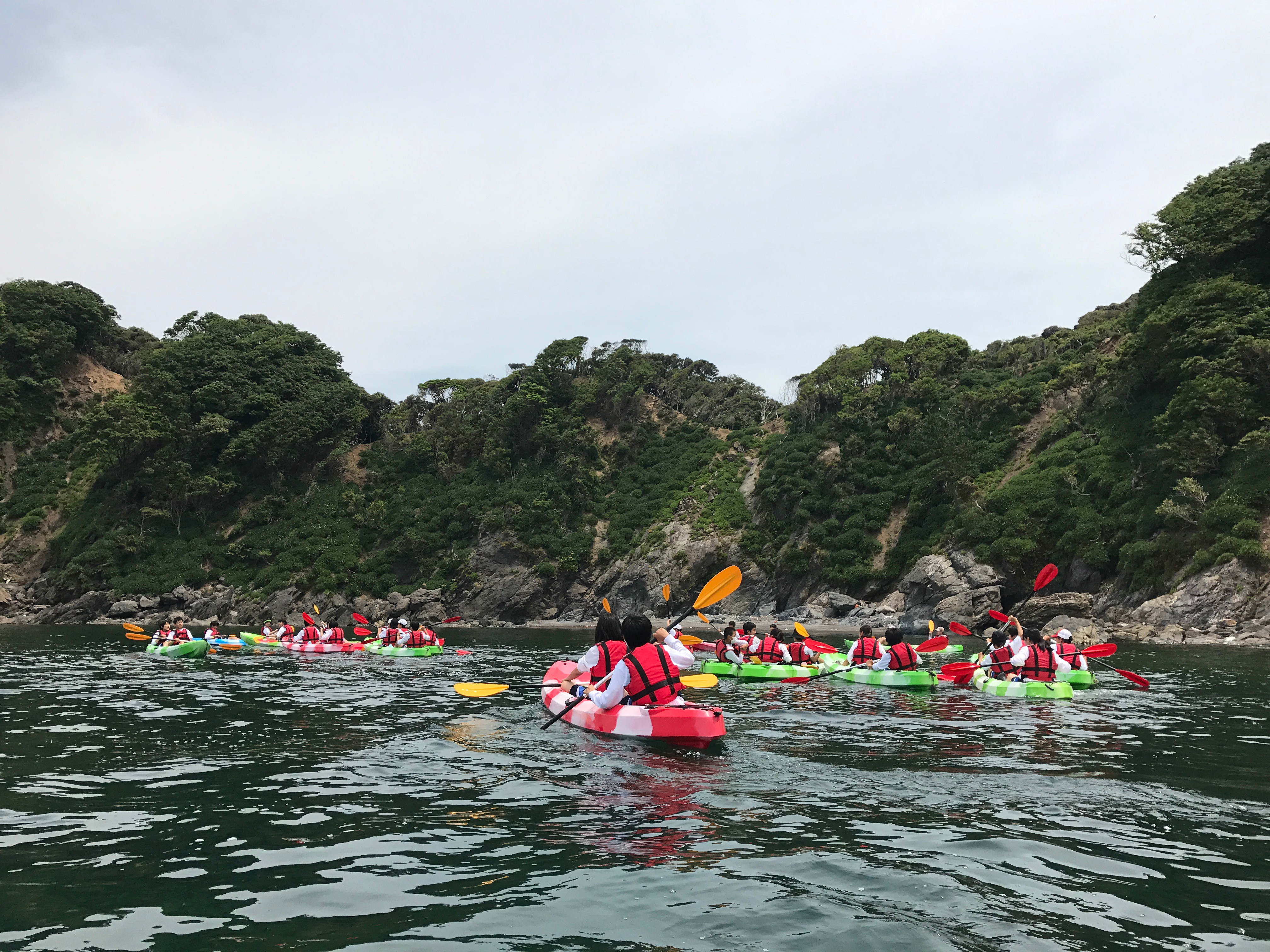 Sea Kayaking & Fishing & BBQ