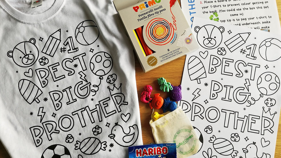 Best Big Brother/Sister Gift Box