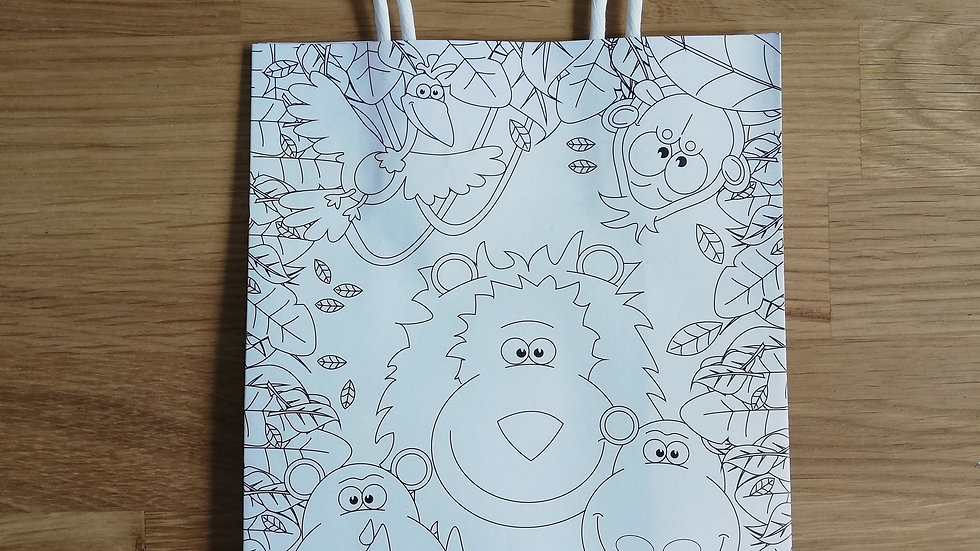 Colour in Gift Bag
