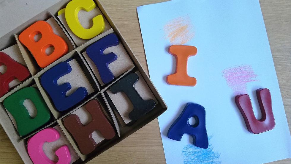 Crazy Crayons Full Alphabet