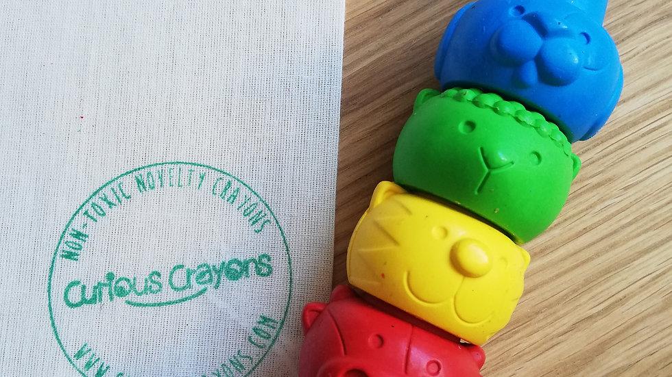 Animal Finger Crayons