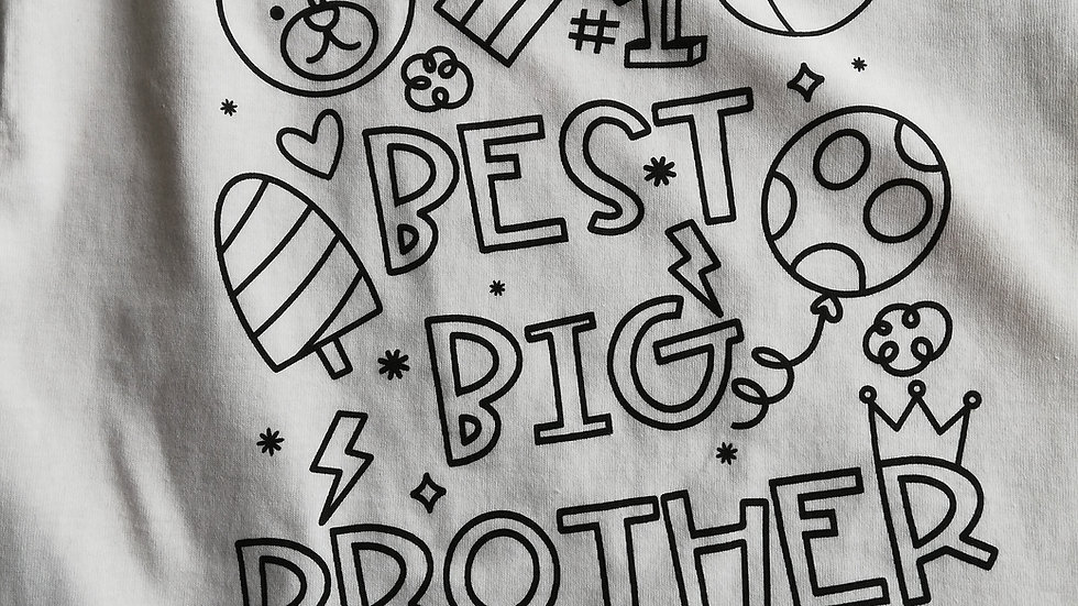 Best Big Brother/Sister T-shirt
