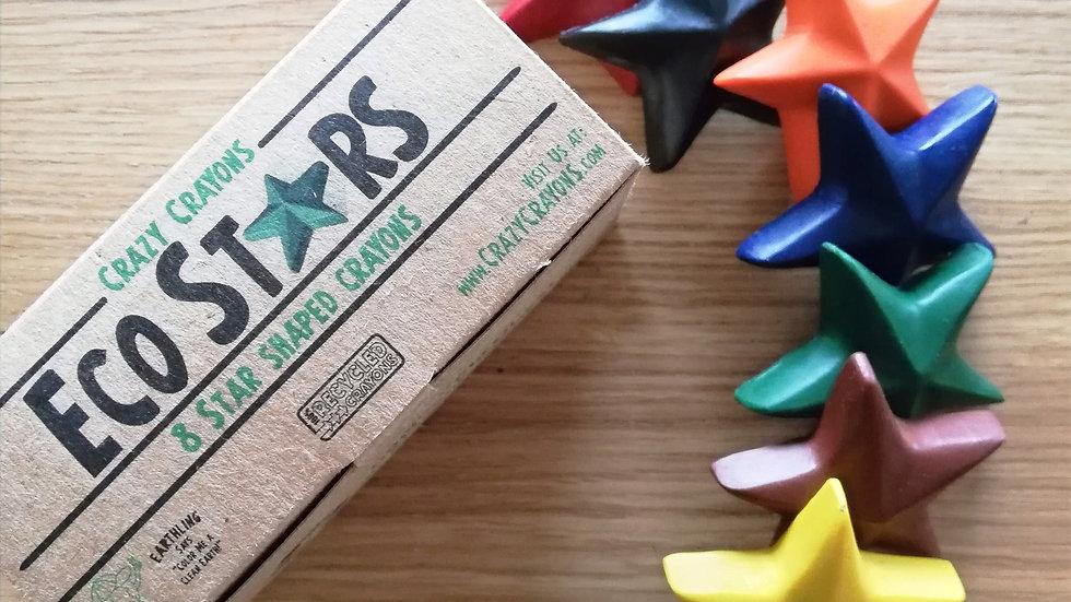 Crazy Crayons Eco Stars