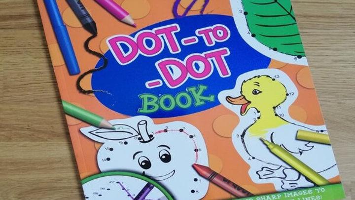 Superior Dot to Dot Colouring Book