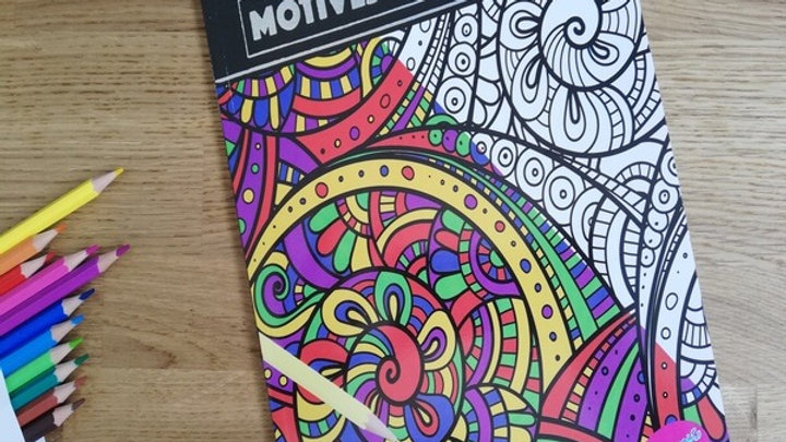 Adult Anti-Stress Colouring Book