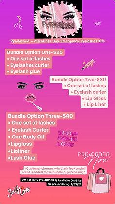 (PreOrder) Valentines Day Emergency Eyelash Kira / Bundle Option Three