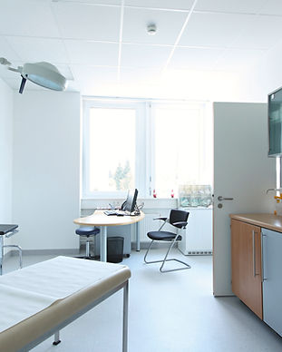 le bureau du docteur