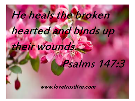 Healing the broken hearted