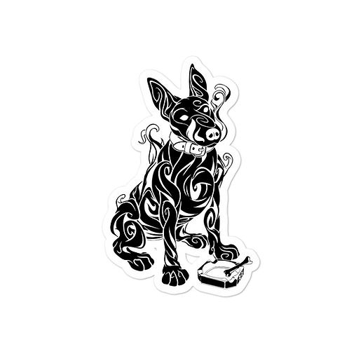 Smokin' Dog stickers