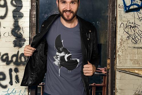 Stylized Scrap Yard Hood T-Shirt